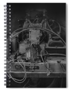 Antique Philco Radio Model 37 116 Bw Spiral Notebook