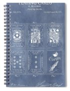 Antique Playing Cards Spiral Notebook