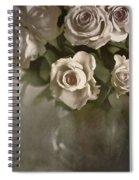Antique Roses Spiral Notebook