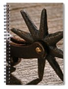 Antique Star Spur Spiral Notebook