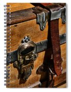Antique Steamer Truck Detail Spiral Notebook