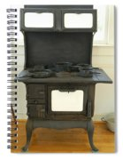Antique Stove Number 2 Spiral Notebook