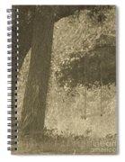 Antique Swing Spiral Notebook