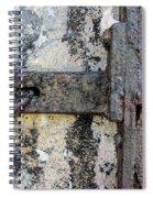 Antique Textured Metalwork Gate Spiral Notebook