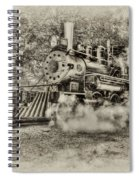 Antique Train Spiral Notebook