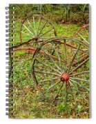Antique Wagon Frame Spiral Notebook