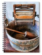 Antique Washing Machine Spiral Notebook