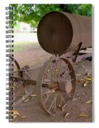 Antique Water Tank - No 1 Spiral Notebook
