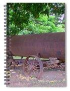 Antique Water Tank - No 2 Spiral Notebook