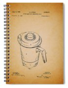 Antique Westinghouse Coffee Maker Patent 1964 Spiral Notebook