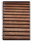 Antique Wood Texture Spiral Notebook
