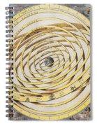 Antique Zodiacal Planetarium Spiral Notebook