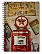 Antiques And Junque Spiral Notebook