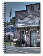 Antiques In Drytown Spiral Notebook
