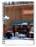 Antiques In The Mountains Spiral Notebook