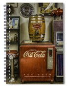 Antiques - Murray's Root Beer And Coca Cola Spiral Notebook