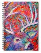 Antler Swirl Spiral Notebook