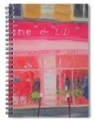 Antoine & Lili, 2010 Oil On Canvas Spiral Notebook