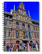 Antwerp's City Hall Spiral Notebook
