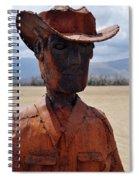 Anza Borrego Cowboy Spiral Notebook