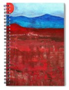 Anza-borrego Vista Original Painting Spiral Notebook