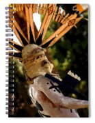 Apache Dancer Spiral Notebook
