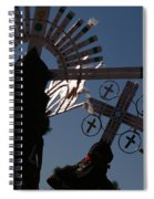 Apache Dancers Spiral Notebook