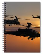Apache Escort  Spiral Notebook