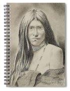 Apache Girl 1906 Spiral Notebook