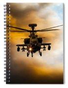 Apache Hunter  Spiral Notebook