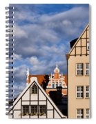 Apartment Houses In Gdansk Spiral Notebook