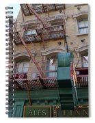 Apartment To Let At Finnegans Spiral Notebook