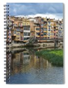 Apartments Girona Spain Spiral Notebook