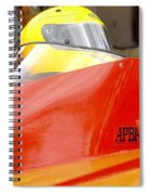 Apba Boat And Helmet 24291 Spiral Notebook