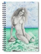 Aphrodite Spiral Notebook