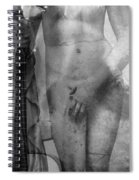 Aphrodite's First Love 2 - Guitar Art By Sharon Cummings Spiral Notebook