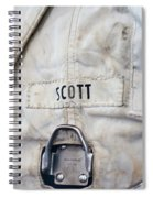 Apollo Lunar Suit Spiral Notebook