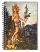 Apollo Receiving The Shepherds Offerings Spiral Notebook