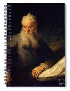 Apostle Paul Spiral Notebook
