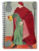 Apothecary, 15th Century Spiral Notebook