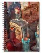 Apothecary - A Series Of Bottles Spiral Notebook