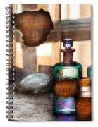 Apothecary - Oleum Rosmarini  Spiral Notebook