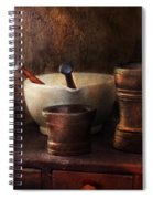 Apothecary - Pick A Pestle  Spiral Notebook