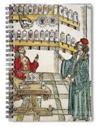 Apothecary Shop, 1500 Spiral Notebook