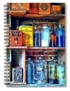 Apothecary Stockroom Spiral Notebook