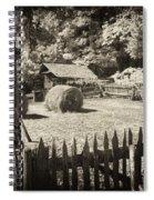 Appalachian Barnyard Spiral Notebook
