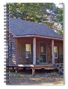 Appalachian Cabin Spiral Notebook