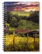 Appalachian Mountain Farm Spiral Notebook