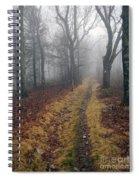 Appalachian Trail Fog Spiral Notebook