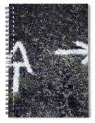 Appalachian Trail Symbol Spiral Notebook